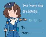 Louisbourg Valentine